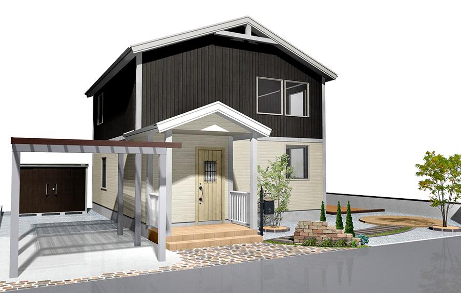 こちらは来春工事予定の北欧風なお客様宅です、今から完成が楽しみです。