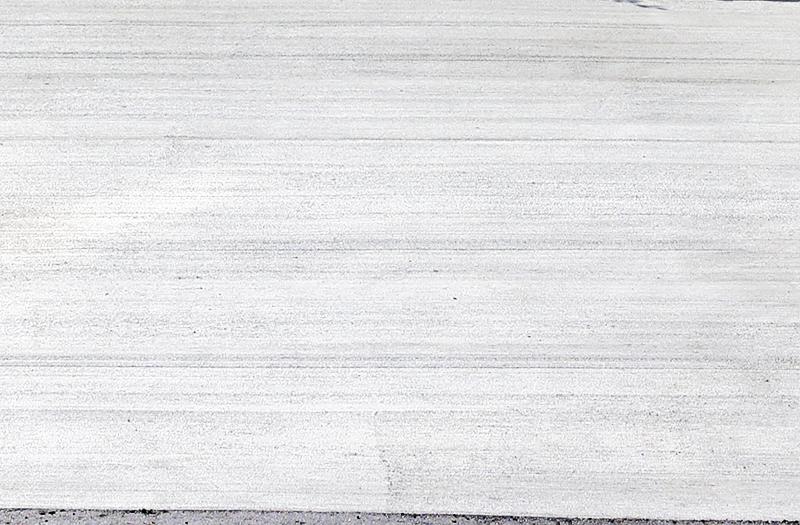 土間コンクリート刷毛引き仕上