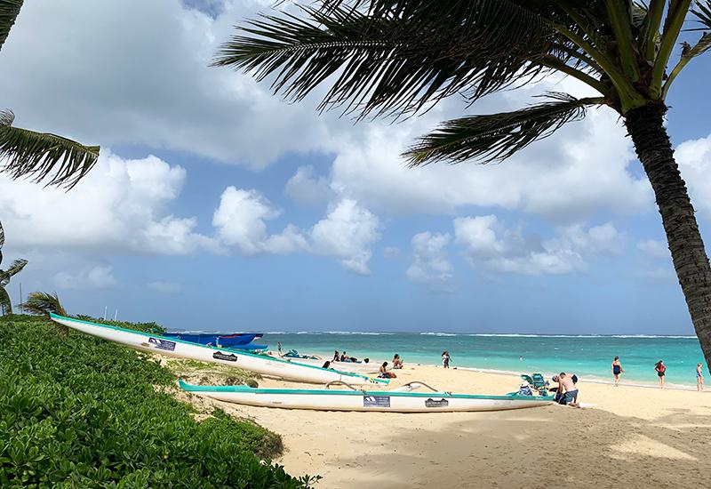 世界一美しいと言われるラニカイビーチ