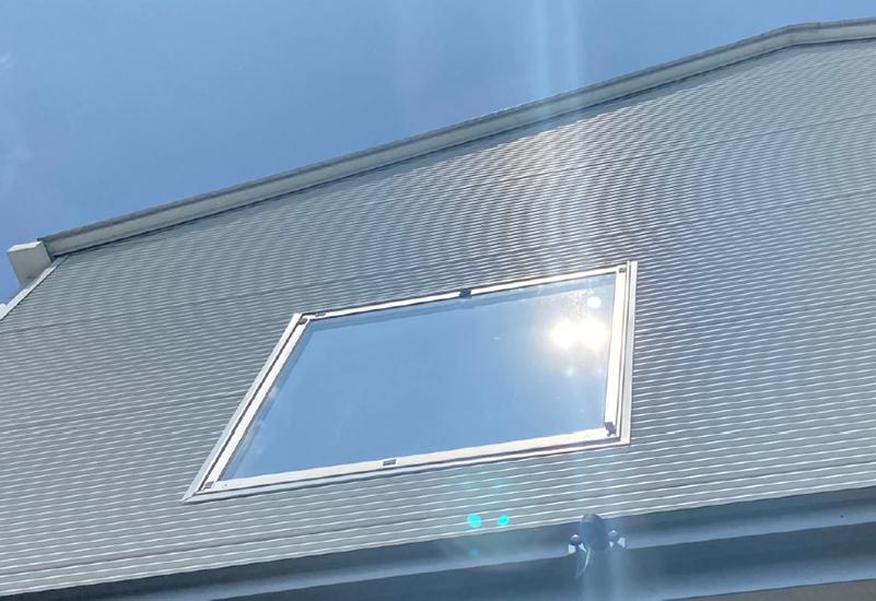 2重ガラスで太陽が二つに見える現象