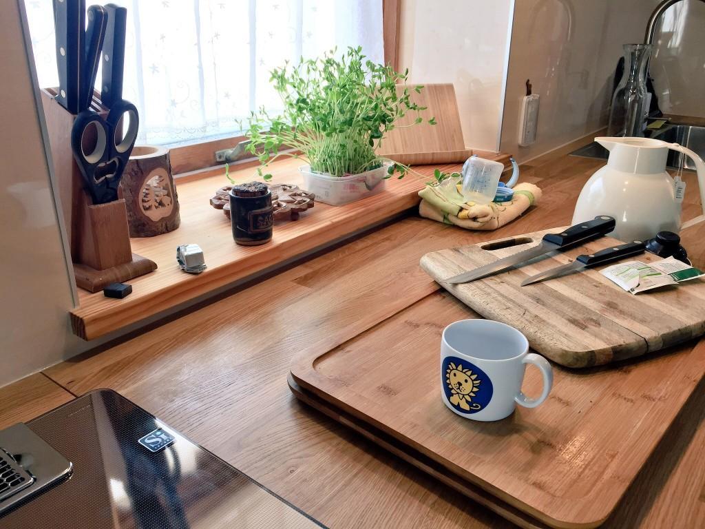 シアワセを感じるお気に入りのキッチン空間