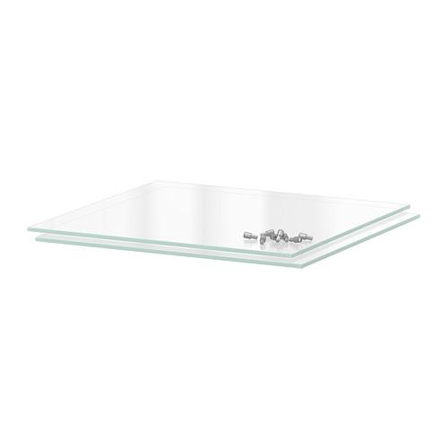 ガラス製の棚板