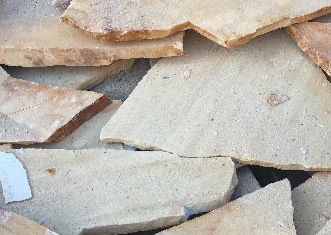 乱形アプローチ用石英石