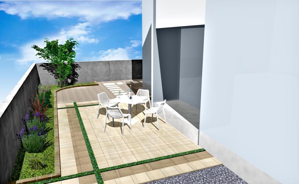 お庭テラスイメージ画像