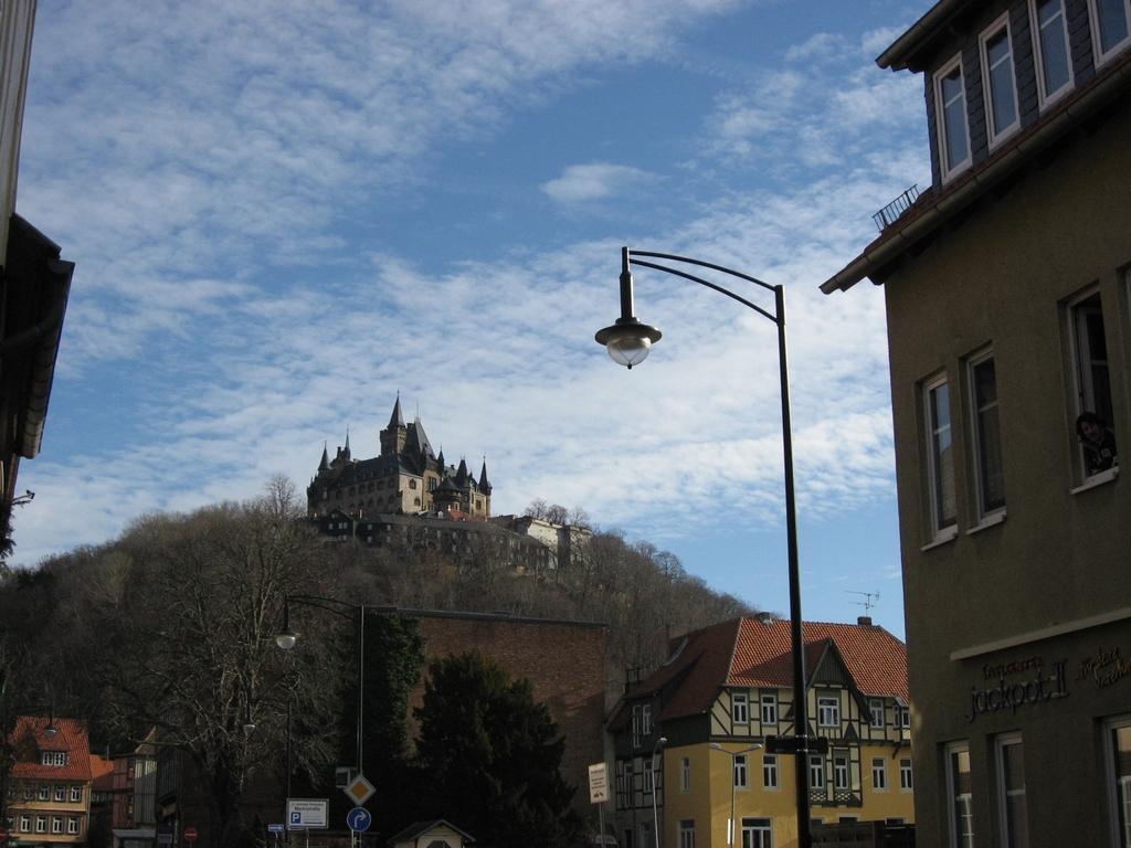 ドイツの街並みとベルニゲローデ城